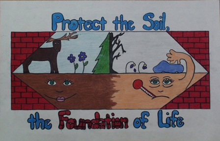Soil conservation poster ideas images for Words for soil